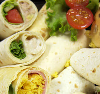 Buffet Wraps for Office